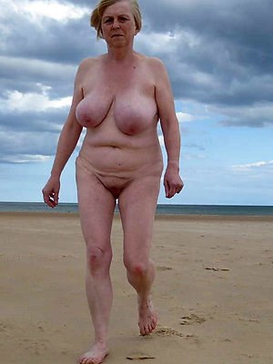 fantastic mature nude beach photo