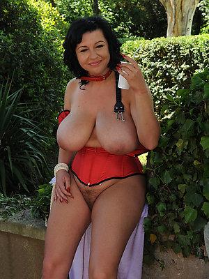 horrific chunky saggy mature tits