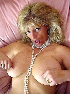 curvy skinny mature blonde