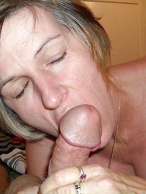 real mature milf blowjob