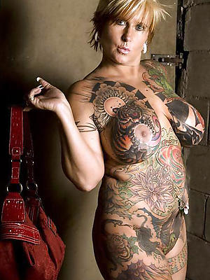 fantastic full-grown tattoos naked