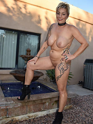 naked tattooed mature porn
