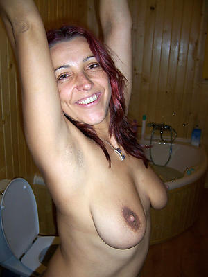unpractised mature tits shorn