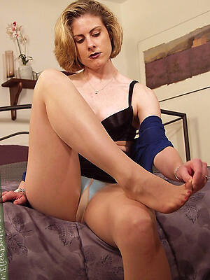 amazing old battalion in pantyhose porn pics