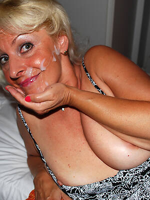 mature blowjob facials