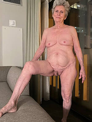 sexy old grandmas displaying say no to pussy