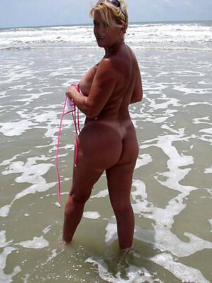 beautiful mature beach boobs