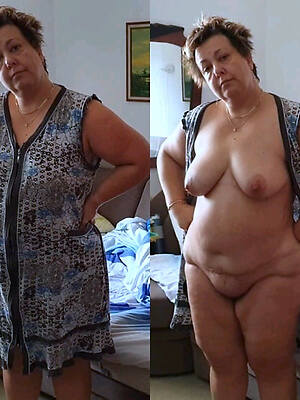 hot sexy matures dressed and undressed