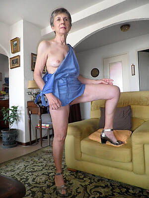 hot titillating 60 year age-old mature women