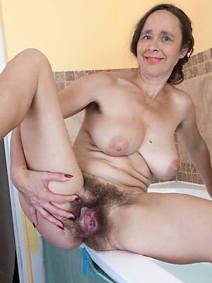 hot of age hairy posing exposed