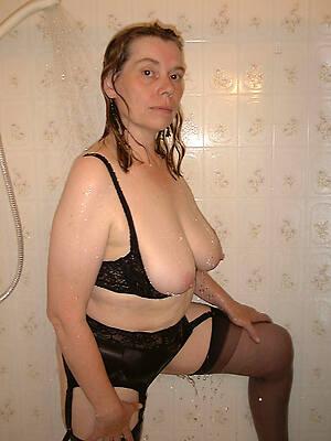amazing inexperienced mature shower