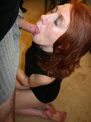 naked pics of mature blonde blowjob