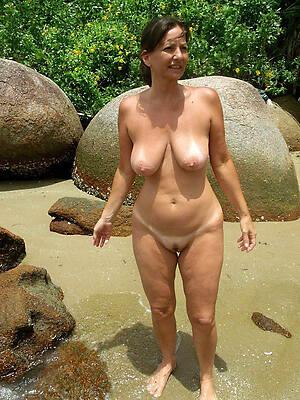 busty mature on nude beach