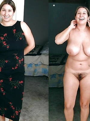 fantastic sexy mature dressed undressed
