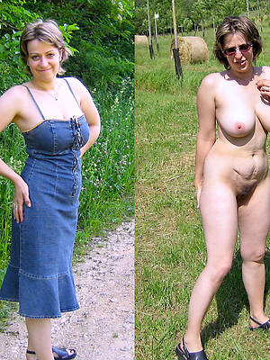 porn pics be fitting of amateur mature dressed undressed