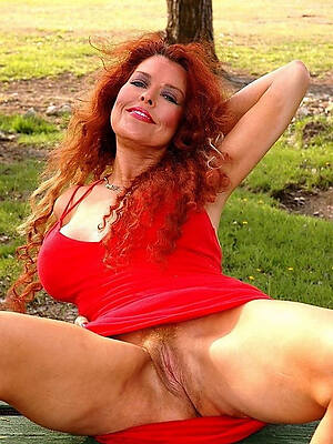 nude mature redheads stripped