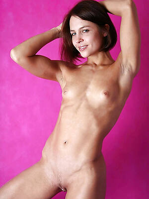 naked mature small chest stripped