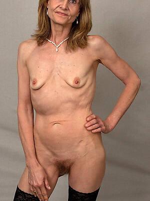 xxx skinny mature tits
