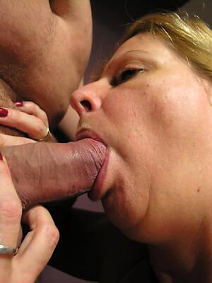blue mature mom blowjob
