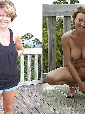 old women dressed undressed tgp