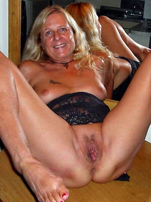unconforming porn pics be fitting of nude mature single