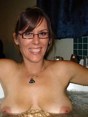 blue mature alongside glasses adult home pics