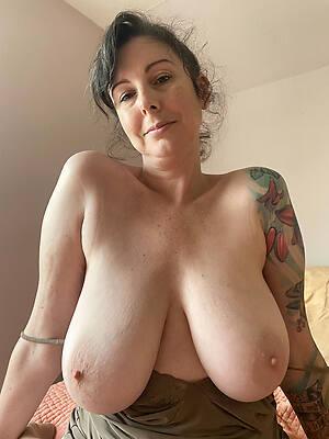 mature nude breast see thru