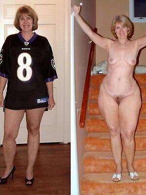 mom dressed undressed hot pics