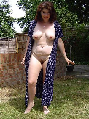 mature brunette milf stripped