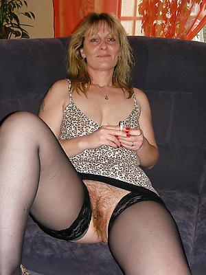 wonderful unshaved mature women