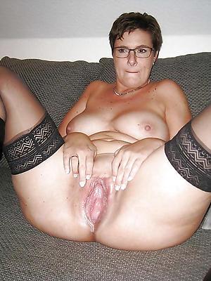 slutty mature shaved vagina