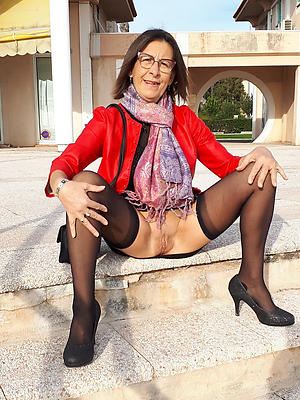 crazy mature stockings pictures