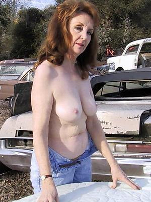 mature loveliness posing nude