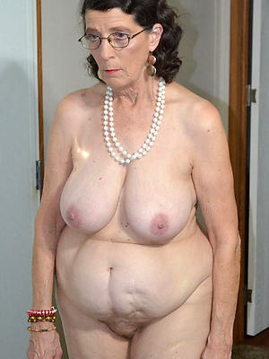 real grandma stark naked