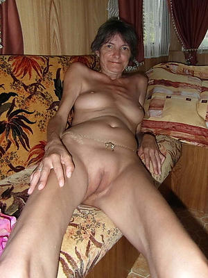 crazy skinny of age saggy tits