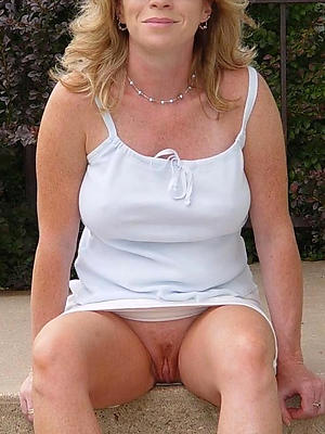 gorgeous mature blonde with glasses