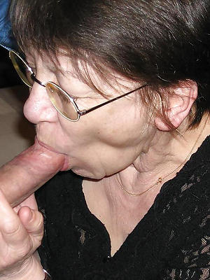 full-grown flaxen-haired with glasses love porn