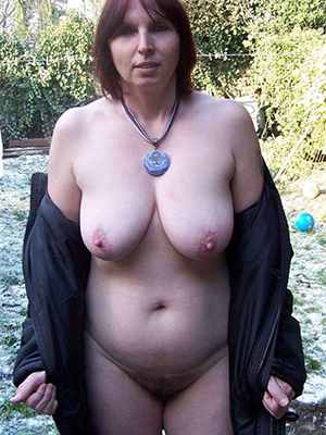 crazy chubby mature milf