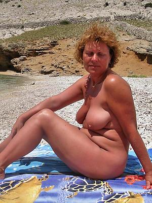 naughty denuded mature beach