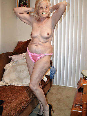 naked old grandma posing literal