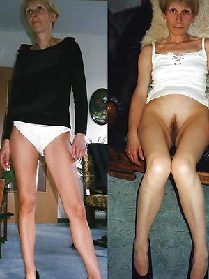xxx dressed undressed mature
