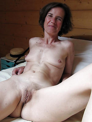 mature skinny milf stripped