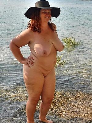 mature redhead Bristols stripped