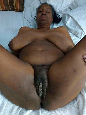 grown-up black pussy reverence porn