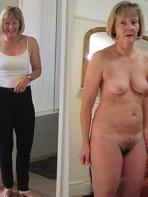 porn pics of milf dressed undressed