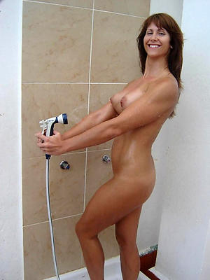 milfs in the shower posing undress
