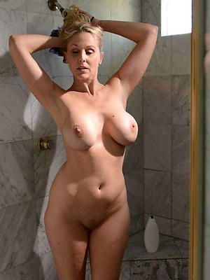 slutty busty mature shower