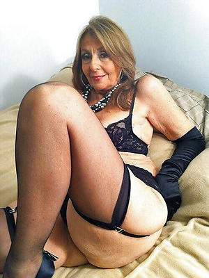 extravagant mature stockings xxx