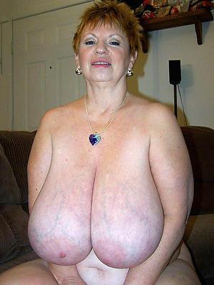 homemade mature big natural tits stripped