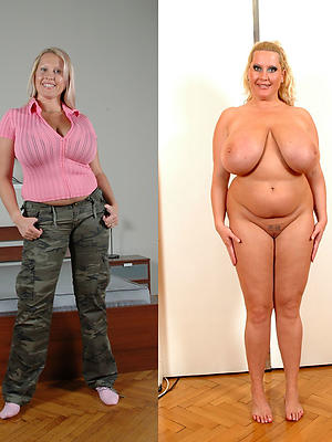 fantastic dressed and undressed women